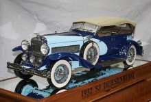 Tiny Hand-Built Duesenberg Is a Masterpiece- Wall of Cool at Synapse Product Development
