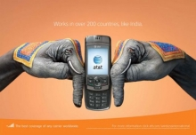 Creative AT&T Advertisements :: Carrier, Hands, Phone- Wall of Cool at Synapse Product Development