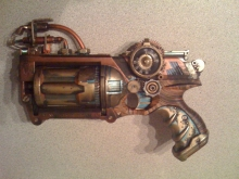 Steampunk NERF Mods- Wall of Cool at Synapse Product Development