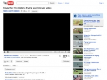 Flying Lawnmower - Youtube- Wall of Cool at Synapse Product Development