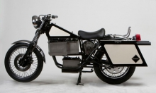 Blindspot Cycles: Salvaged Motorcycles Reborn All Electric :: Inhabitat- Wall of Cool at Synapse Product Development