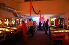 Seattle Pinball Museum- Wall of Cool at Synapse Product Development