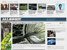 Circular Loom Weaves Lexus LFA Carbon A-Pillar - Lexus LFA - Jalopnik- Wall of Cool at Synapse Product Development