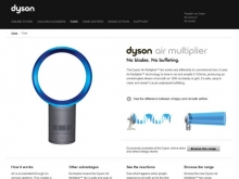 Dyson Air Multiplier™ fan :: Dyson.com- Wall of Cool at Synapse Product Development