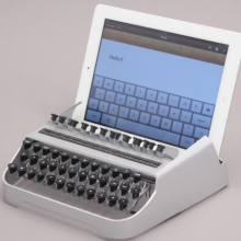 iPad Typewriter- Wall of Cool at Synapse Product Development