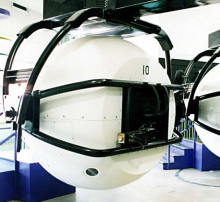 Centrifuge Flight Motion Simulator- Wall of Cool at Synapse Product Development