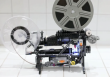 Super-8 movie projector made of Lego!- Wall of Cool at Synapse Product Development