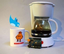 Tweet-a-Pot: Twitter Enabled Coffee Pot- Wall of Cool at Synapse Product Development