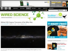 Brilliant 360-Degree Panorama of the Milky Way- Wall of Cool at Synapse Product Development