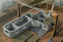 Concrete 3D Printer Can Build Homes in less than 24 Hours- Wall of Cool at Synapse Product Development