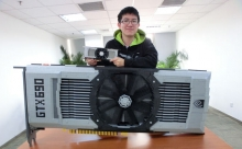 Nvidia GeForce GTX 690 Built with Lego- Wall of Cool at Synapse Product Development