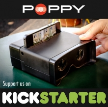 Poppy: Turn Your iPhone into a 3D Camera- Wall of Cool at Synapse Product Development